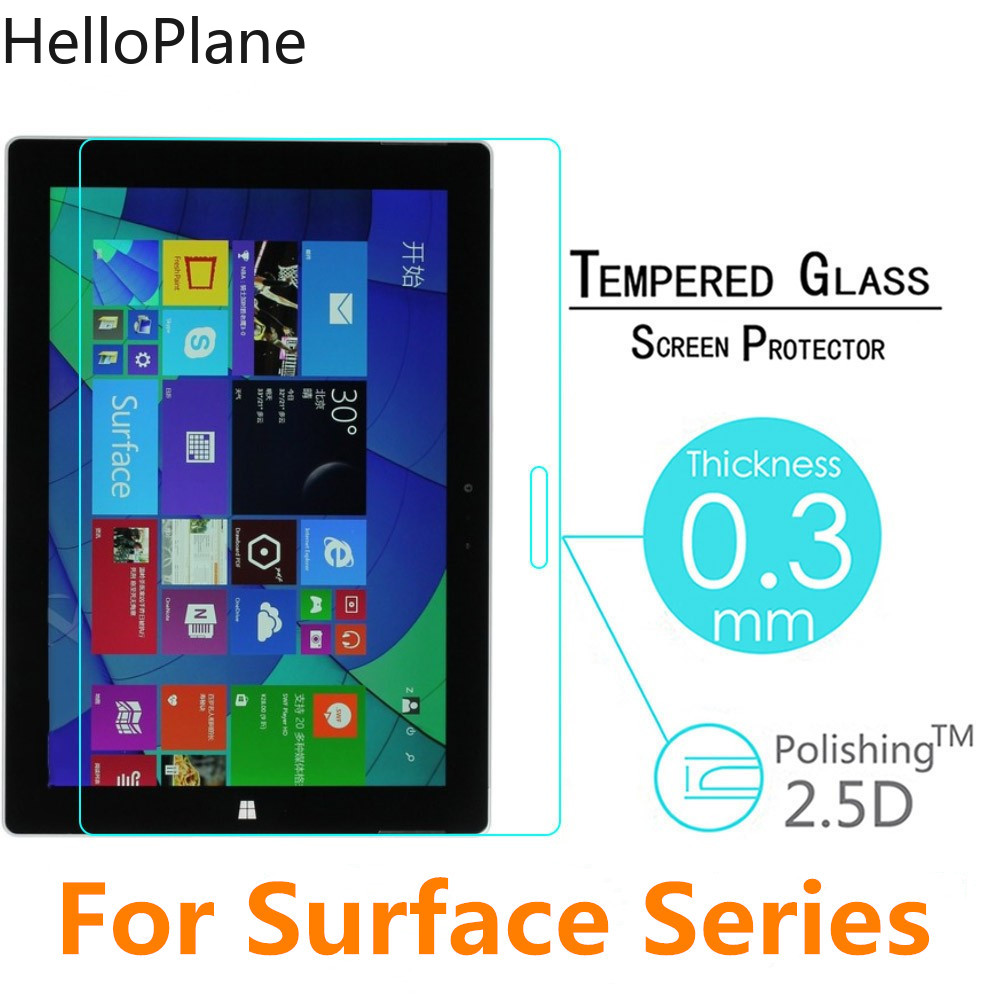 Tempered Glass Screen Protector For Microsoft Surface Pro 7 X 6 5 4 3 2 Pro7 ProX Pro6 Pro5 Pro4 Pro3 RT RT2 RT3 Tablet Film