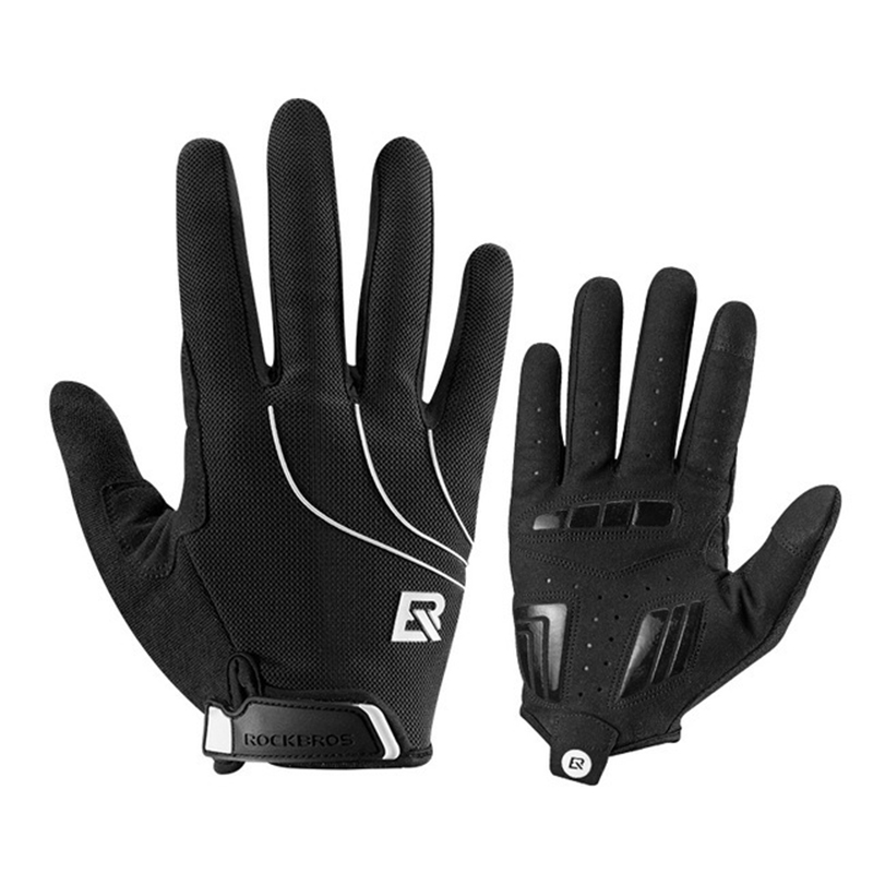 Full Half Finger Cycling Gloves Men Women MTB Road Bike Goloves Breathable Anti Slip Motorcycle Gloves Sport Fitness Glove in Cycling Gloves from Sports Entertainment