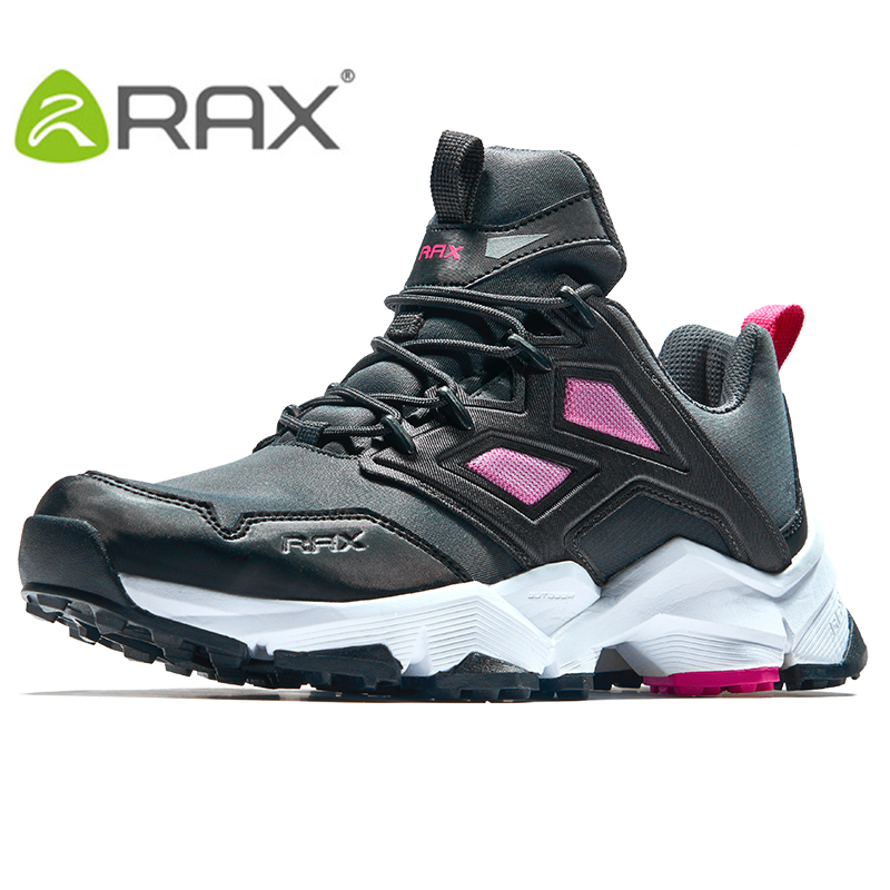 Rax Womens Lightweight Breathable Air Mesh Hiking Shoes with Anti-slip Natural Rubber Outsole Newest Trekking Shoes