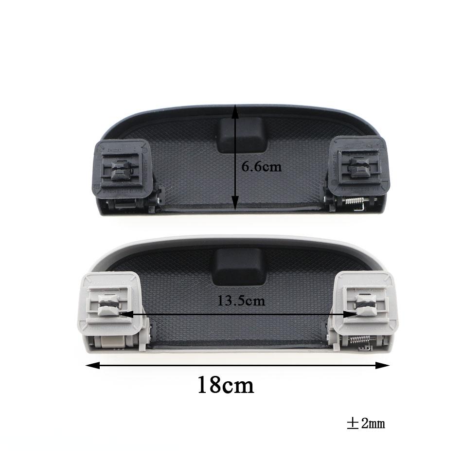 Car Glasses Case Storage Box for Mercedes Benz AMG W203 W204 W205 S204 C204 W212 A124 A207 X204 GLK GLC GLE C E Class 2013-2016