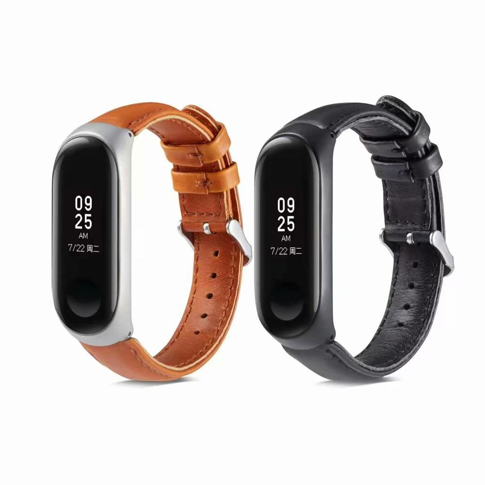 Mi 4 Wrist Strap For Xiaomi Band Leather Bracelet Sport Watch Watchband Accessorie