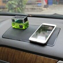 Липкий коврик приборной панели автомобиля держатель для MP3 MP4 IPDA Силиконовые Ключ монета солнцезащитных держатель телефона Нескользящие Коврики Нескользящие
