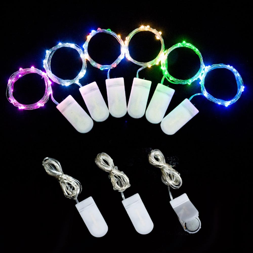 LED String Light DIY Bottle Lights with Battery Eternal Flower Christmas Decoration Handmade Wedding Gift Accessory Supply
