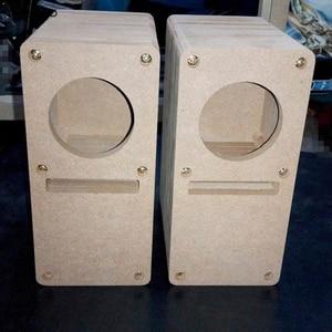 Image 2 - IWISTAO HIFI 2 Inch Labyrinth Full Range Speaker Empty Cabinet 1 Pair MDF Wood Board Adhesive Free Design