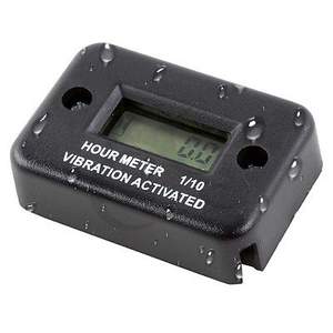 Image 2 - Motorcycle New Tach Vibration Activated Hour Meter Counter Waterproof For ATV Snowmobile Gas Engine Boat Motorbike