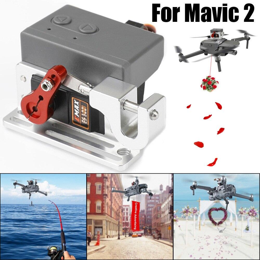 Для DJI MAVIC 2 Pro/Zoom Drone клип Полезная нагрузка доставка падение транспортного устройства Дрон релиз Рыбалка приманки переноски N.30