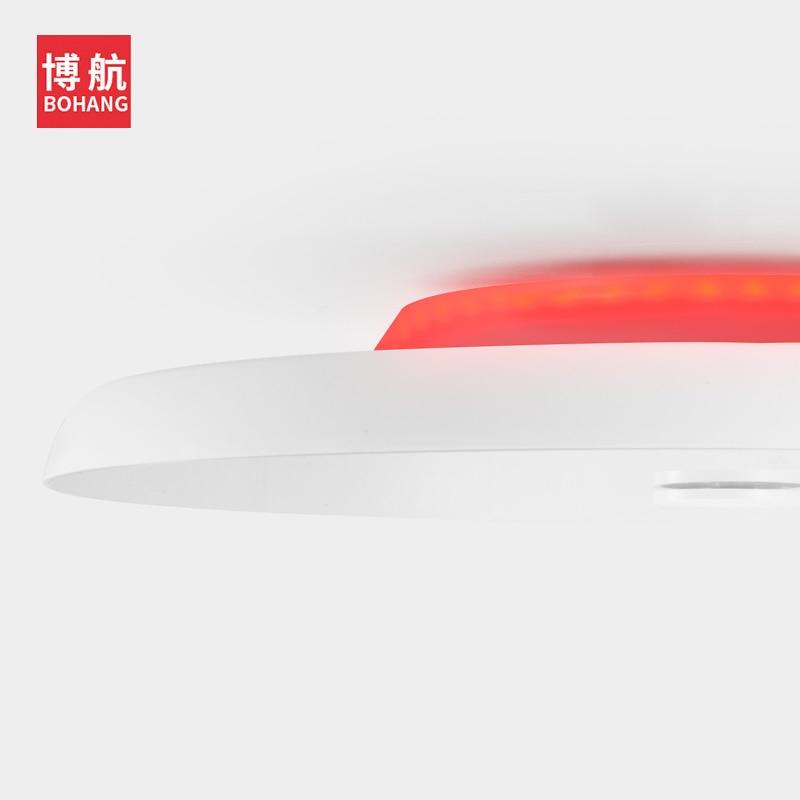 Lumière de plafond moderne à LEDs Dimmable 36W 48W 72W APP télécommande Bluetooth haut parleur musique lumière salon chambre plafonnier intelligent - 4