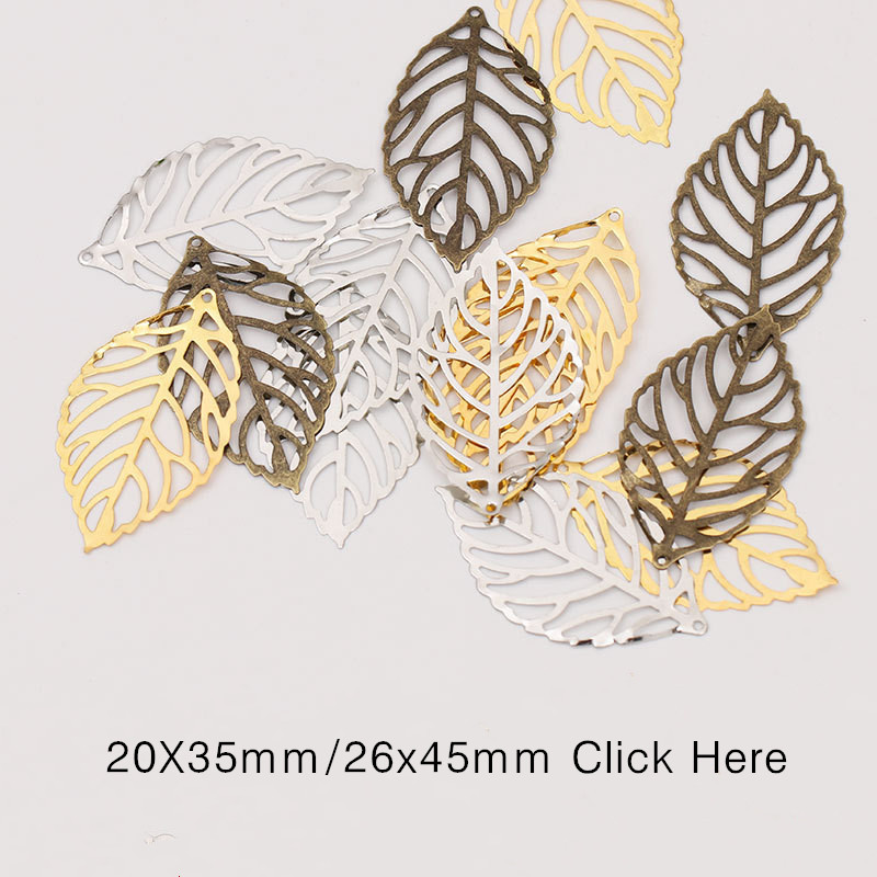 50pcs-Craft-Hollow-Leaves-Pendant-Jewelry-Accessories-Gold-Charm-Filigree-Jewelry-Making-Plated-Vintage-for-Hair
