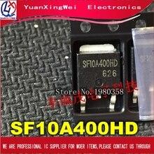 O envio gratuito de 100 pçs/lote SF10A400HD PARA 252 autêntico e original