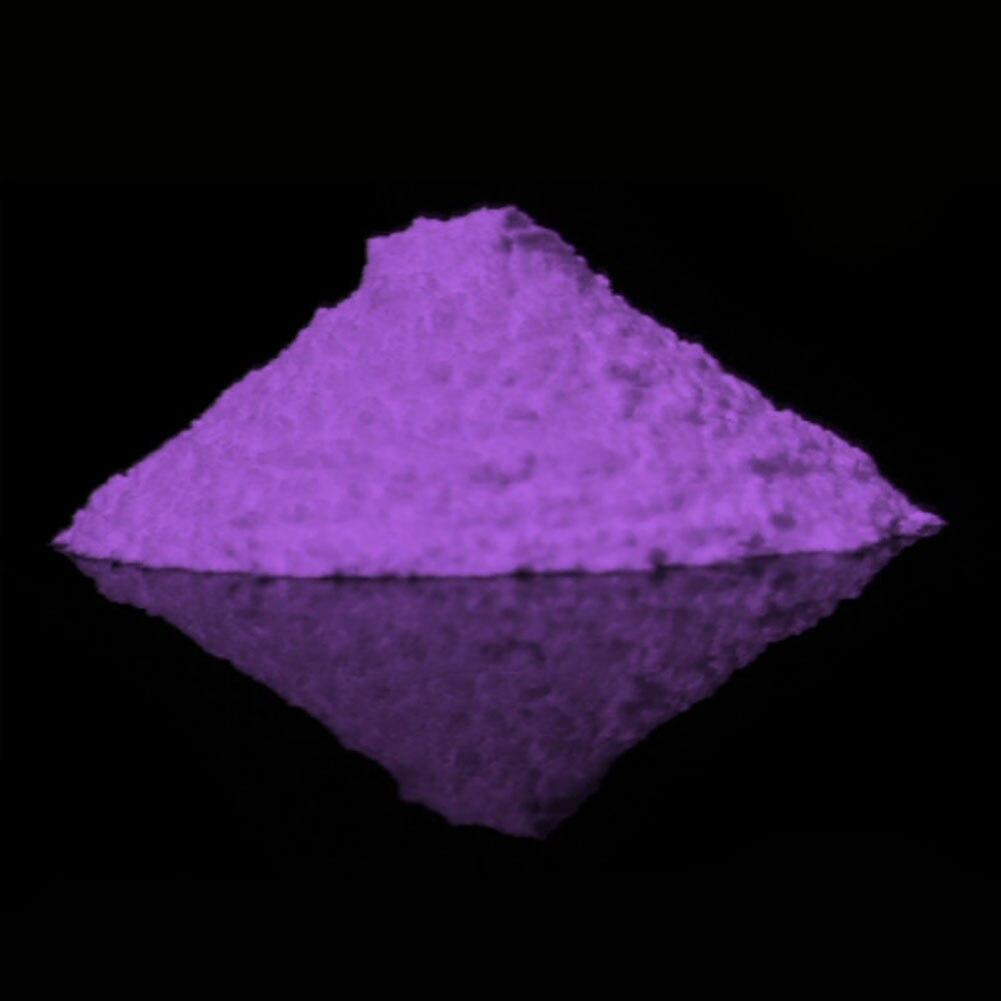 Brinquedos Pigmento Fluorescente Pó Fosforescente Durável Brilho Areia Luminosa Escuro Super Brilhante Do Partido DIY Casa Portátil