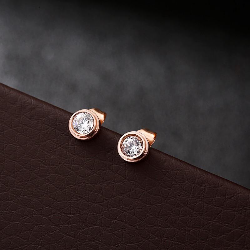 Engagement & Wedding Fashion Jewelry Generous 797a Silver Plated Vintage Look Clear Cz Teardrop Stud Earrings