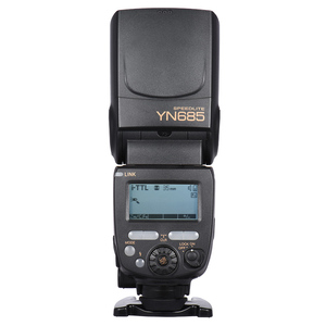 Image 3 - YONGNUO YN685 Wireless 2.4G HSS TTL/iTTL Flash Speedlite for Canon Nikon D750 D810 D7200 D610 D7000 DSLR Camera Flash Speedlite