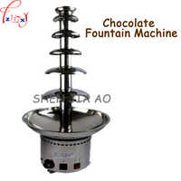 6 Layer commercial chocolate fountain, wedding fountain Chocolate Fountain Machine DIY Chocolate Hot Pot 110/220V 1PC