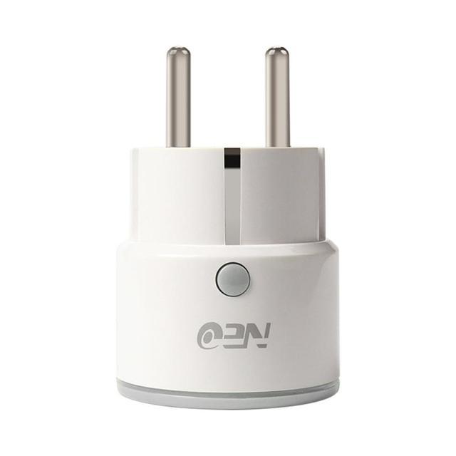Interruptor de nuevo Mini enchufe WiFi inteligente funciona con Echo Alexa Google Home Remote EU 18Jun18 Drop Ship F