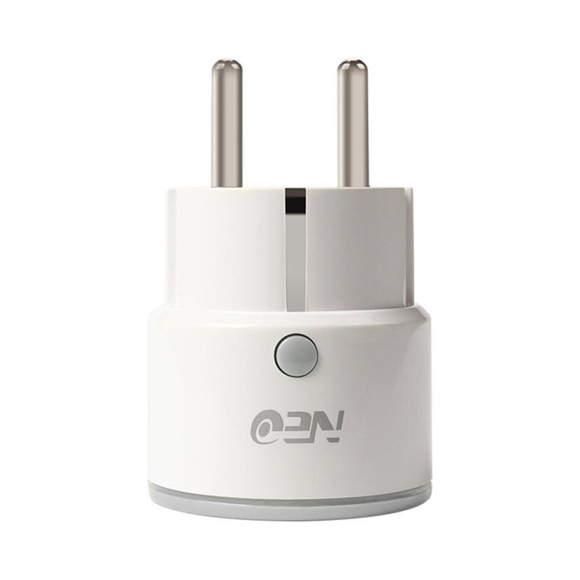 Neue Smart Mini WiFi Stecker Outlet Schalter arbeit mit Echo Alexa Google Home Remote EU 18Jun18 Drop Schiff F