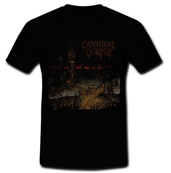 Cannibal Corpse Death Metal Band A Skeletal Domain T Shirt Tee Sz S M L Xl 2Xl