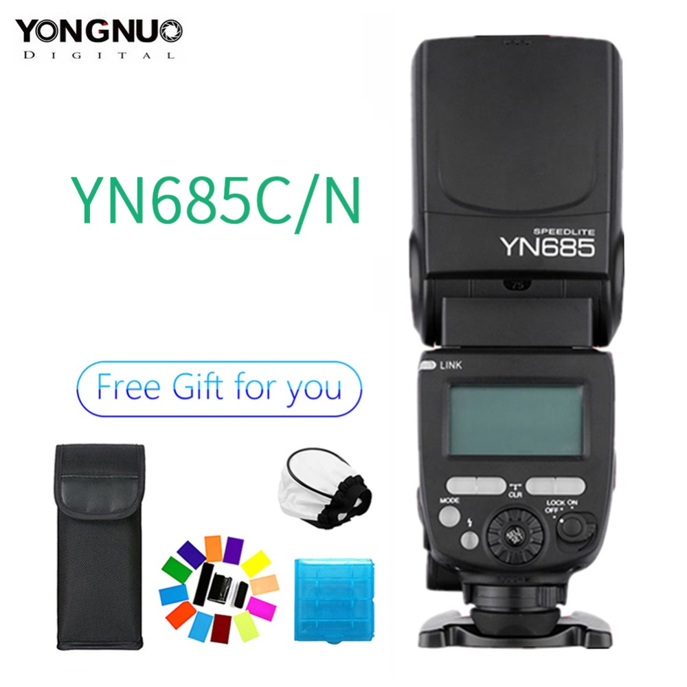 YONGNUO YN685 Wireless 2.4G HSS TTL Flash Speedlite for Canon Nikon,YN685C YN685N support YN560-TX RF603 II YN622C YN622N-TXYONGNUO YN685 Wireless 2.4G HSS TTL Flash Speedlite for Canon Nikon,YN685C YN685N support YN560-TX RF603 II YN622C YN622N-TX