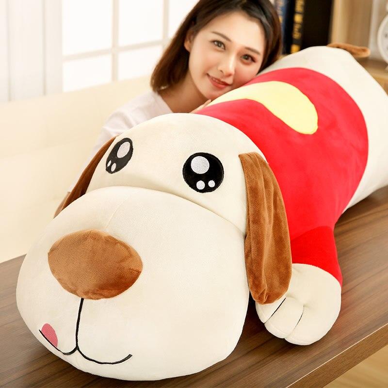 Mignon peluche jouet poupée grand Pa Pa chien Long oreiller créatif pour bébé filles enfants amoureux enfants meilleur noël/anniversaire meilleur cadeau