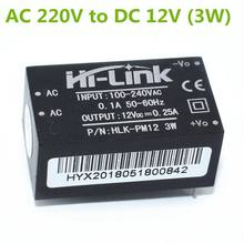 HLK-PM01 HLK-PM03 HLK-PM12 AC-DC 220 V à 5 V/3.3 V/12 V Mini Module d'alimentation Intelligent commutateur domestique(China)