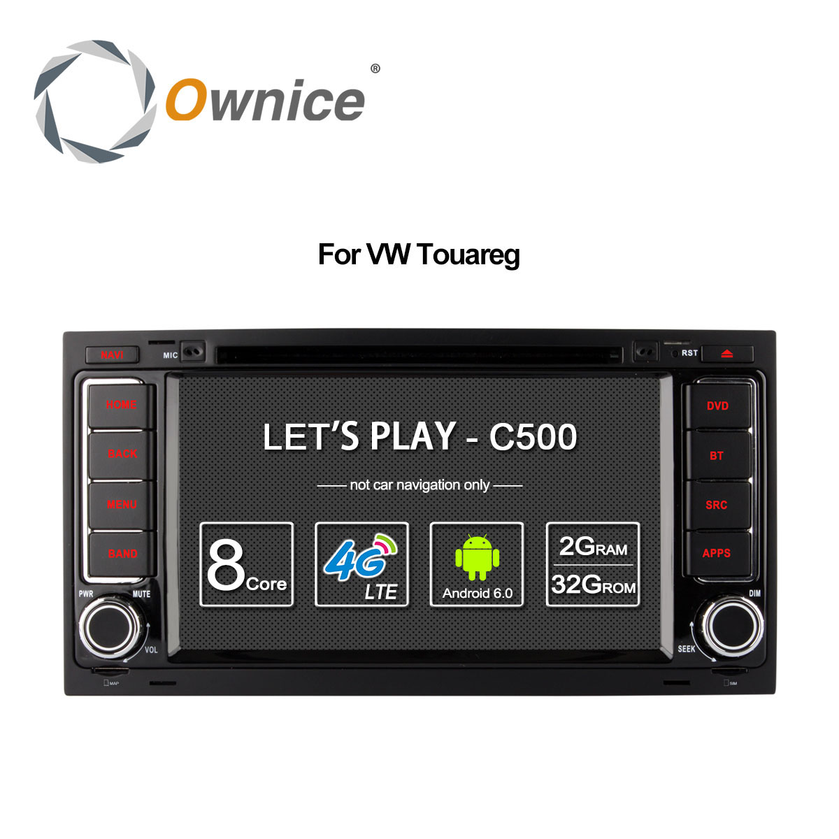 Ownice Android 6 0 4G SIM LTE Octa Core 2G RAM Car DVD GPS Radio for
