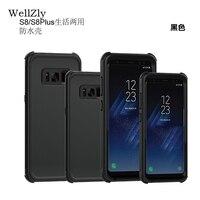 WellZlyสำหรับS Amsung S8/s8 +โทรศัพท์มือถือกันน้ำชีวิตเปลือกด้วยdropสำหรับSamsungs8 s8บวกกรณีกันน้