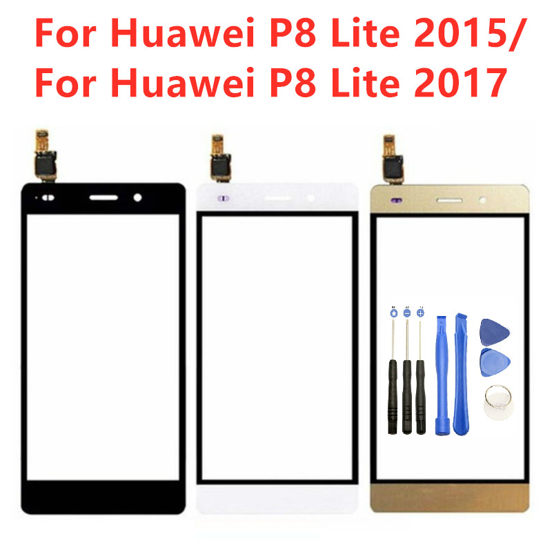 Touch Panel For Huawei P8 Lite 2017 Touch Screen Digitizer Front Glass Sensor Lens For Huawei P8 Lite 2015 Touch Screen