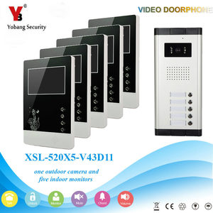 Yobang Security 4.3 Inch Video
