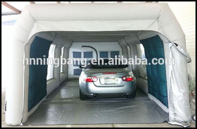 Paint Booth Rental >> Free shipping SIZE 8m*4m*2.5m , portable inflatable garage ...