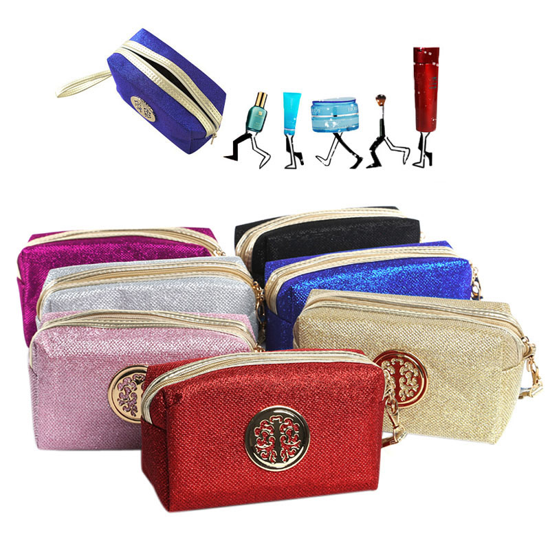 Women Cosmetic Bag Travel Make Up Bags Fashion Ladies Makeup Pouch HTB1GEEEVCzqK1RjSZFpq6ykSXXaZ bag