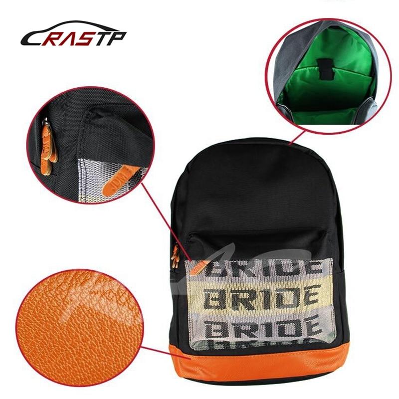 RASTP-Seat Belt Style Shoulder Straps Bride Backpack JDM Bride Racing Bags Bride Fabric For Straps Style Backpack RS-BAG008 e home bride 3040cm холст