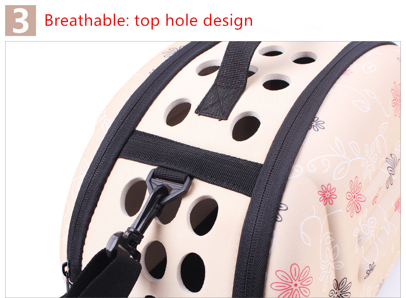 Portable Large Dog Backpack Carrier Saddle Bag 12