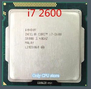 Original lntel I7 2600 CPU Processor Quad-Core 3.4Ghz L3=8M 95W Socket LGA 1155 Desktop CPU i7-2600 (working 100%)