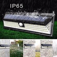 40/54/118 LED Solar Lamp Waterproof Emergency Wall Light Motion Sensor  for Porch Path Street Fence Garden Stairs Corridor