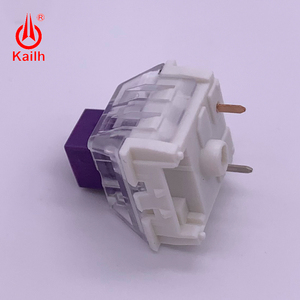 Image 4 - Kailh BOX Royal Switches  Purple DIY Mechanical keyboard Switches Dustproof IP56 waterproof tactile mx stem