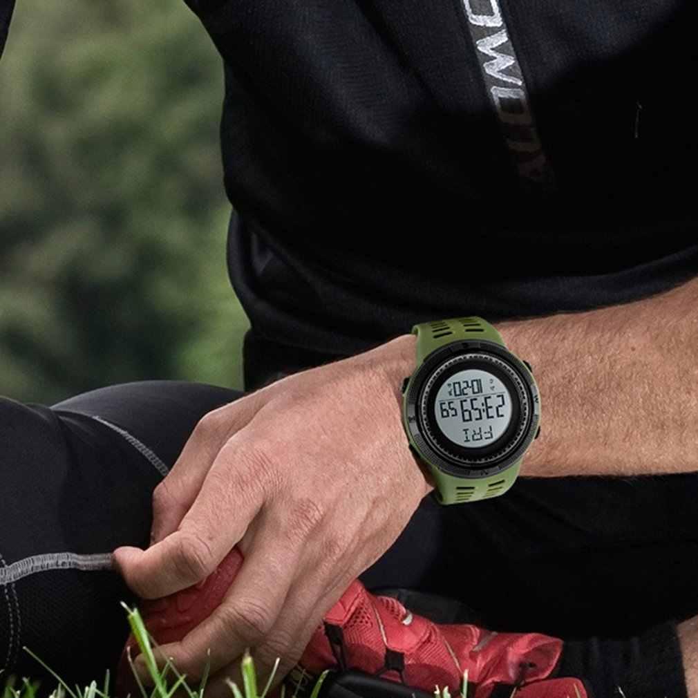 SKMEI עמיד למים ספורט מטר 3D צעד לב שיעור רב פונקצית שיחת תזכורת זוהר חכם שעון שעון ספורט שעונים Relogio