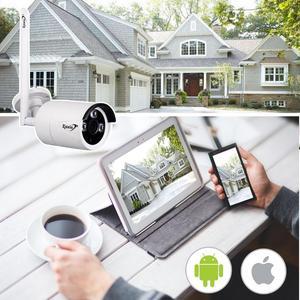 Image 3 - Zjuxin 1080P WIFI 옥외 사진기 당신의 가정 안전을위한 1920*1080 무선 IP 사진기 iCSee P2P 3.6mm 렌즈