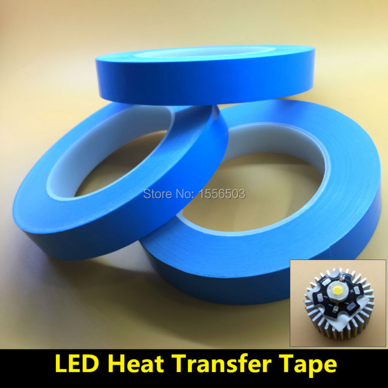 8 PCS 10mm 20mm 25m 0 2mm Transfer Double Sided Heat Thermal Conduct Adhesive Tape for