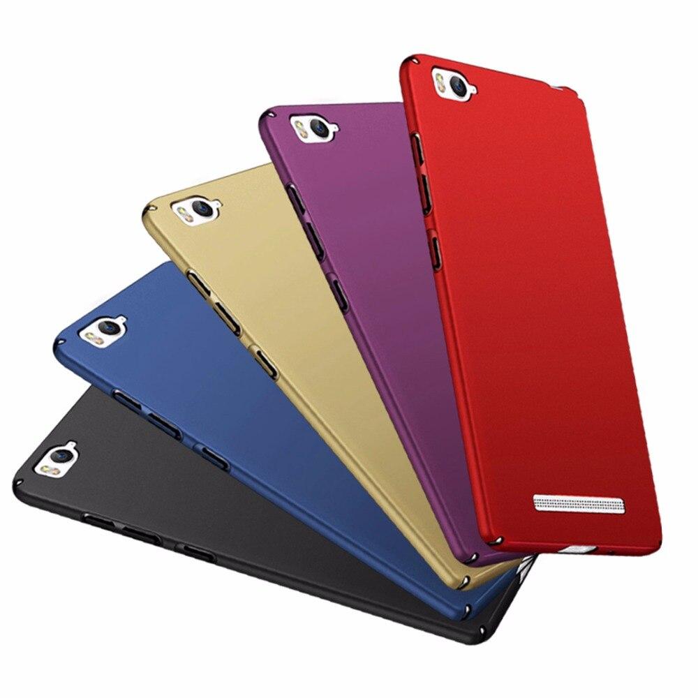 """For Xiaomi Mi 4i 4c Mi4i Mi4c 5.0"""" Case Frosted Full Cover Hard Matte Bumper For Xiaomi Mi 4i Phone Case Xiaomi Mi 4C Back Cover"""