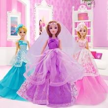 13 típusú kötőelemek Baba baba Játék Rapunzel kis hableány Hófehérke hercegnő Jointed Doll A legjobb ajándék a lányok barátai számára
