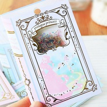 1 piece Q-LIA Scrapbooking Stickers Alice Prologue Bronzing kawaii planner fairy tale stickers Cute Korean Stationery(China)