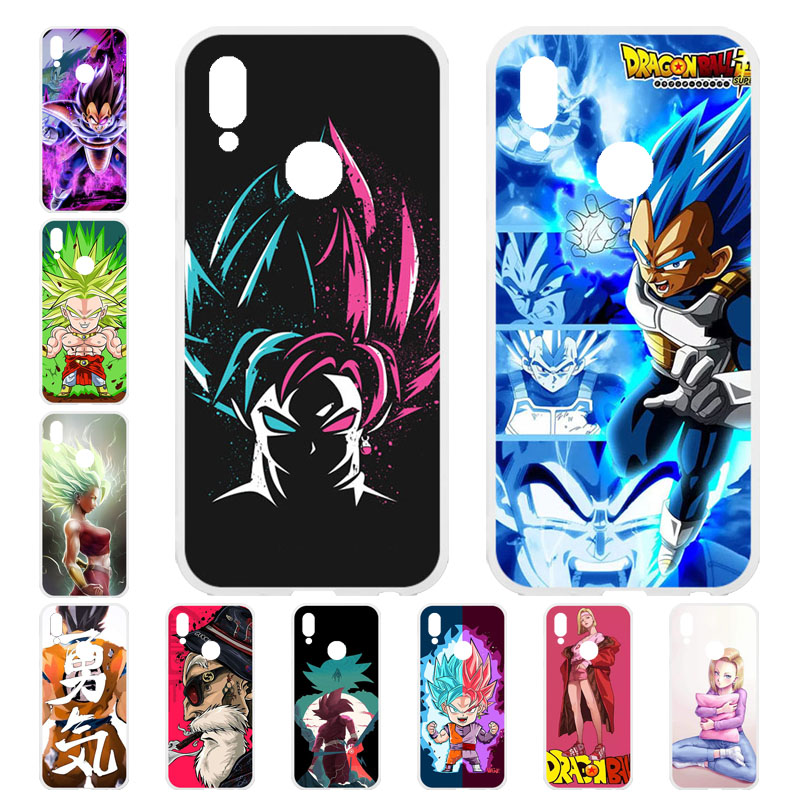 2ceb77a7f7 Dragon Ball Super Phone Cases For Huawei Y9 2019 Case Silicone 6.5