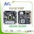 2MP 1080 P Full HD de Alta Definição Câmera de CFTV IP Board Módulos DIY seu Sistema de vigilância de vídeo de segurança Onvif 3516C