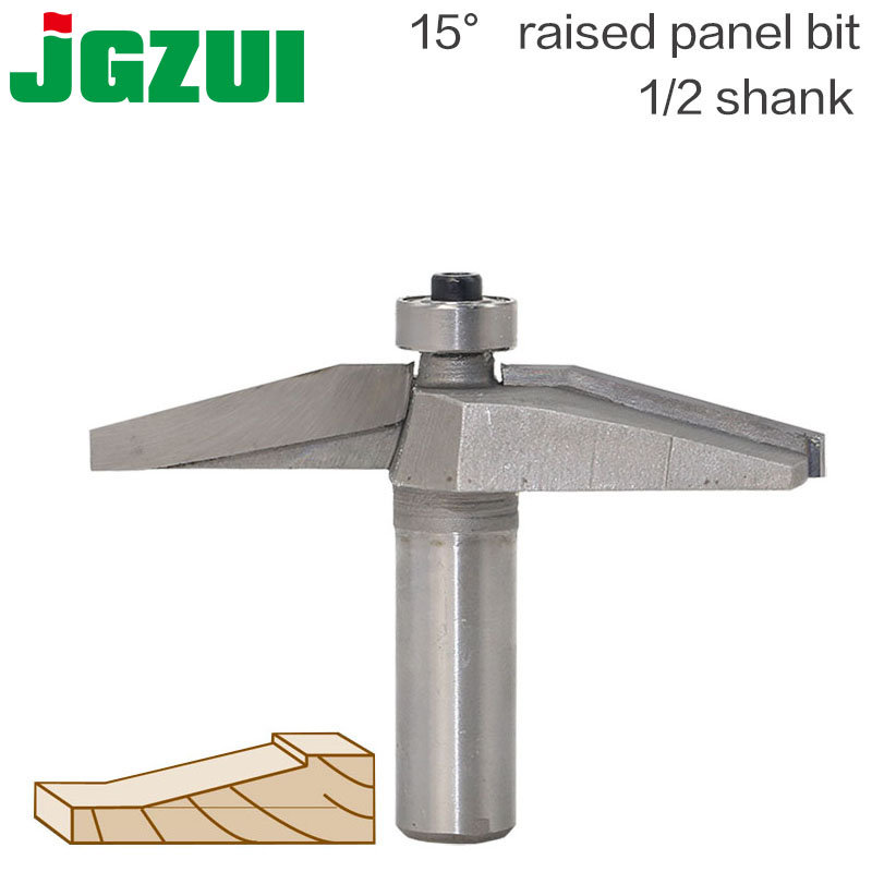 15degree Raised Panel Bit 1pcs Round-Over Router Bits For Wood Woodworking Tool 2 Flute