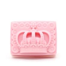 DIY handmade soap silica gel mold rectangular crown