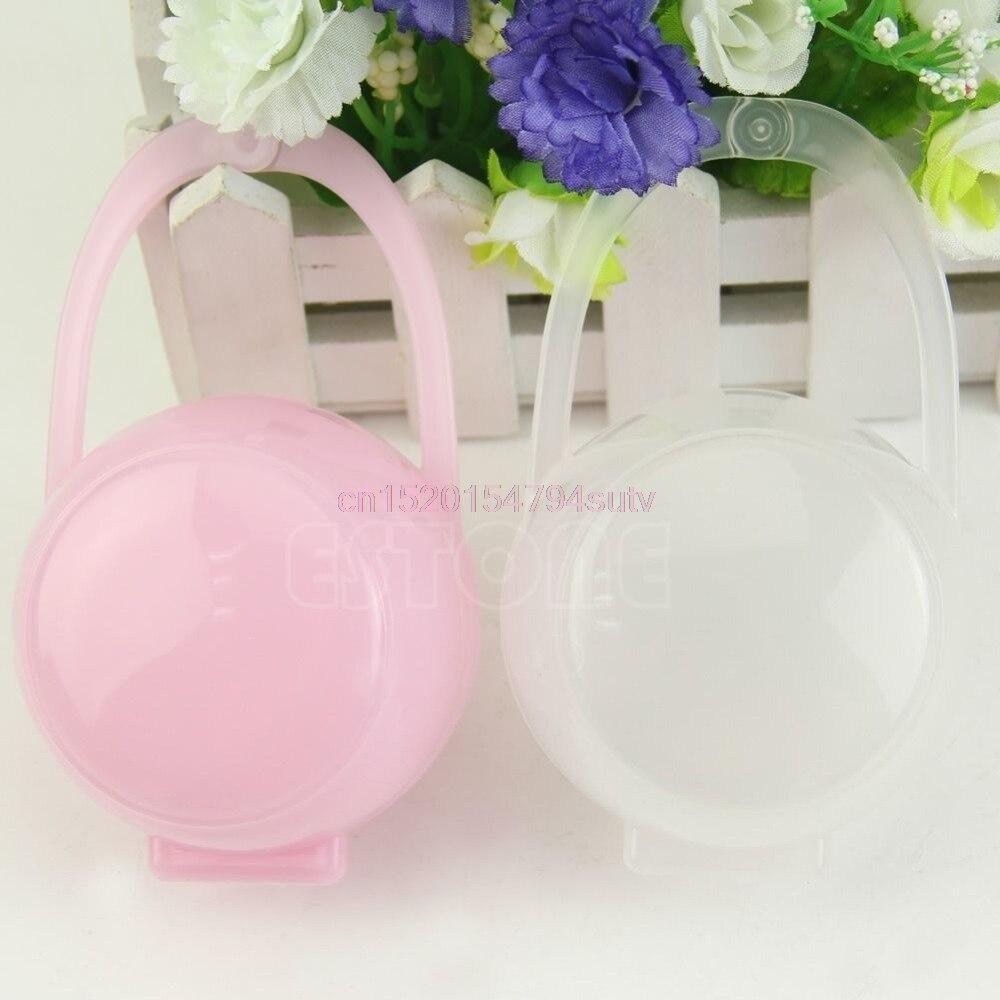 Baby Pacifier Nipple Cradle Case Holder Storage Box #h055#