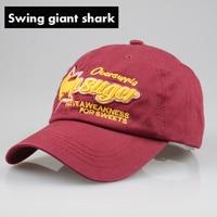Swing Giant Shark New Casquette Fashion Ladies Baseball Hats High Quality Men Gorra Cotton Caps