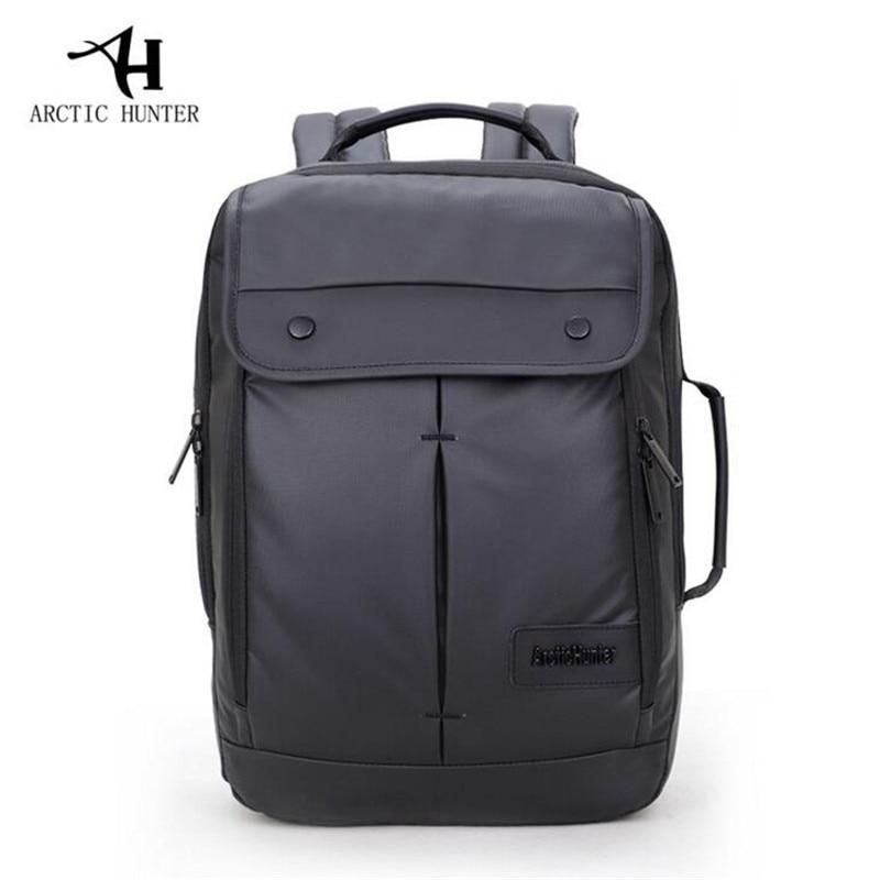 cd4117a729 ARCTIC HUNTER Business Men Backpack Waterproof School Backpack Bag For  College Design Men Casual Male Backpack School P219