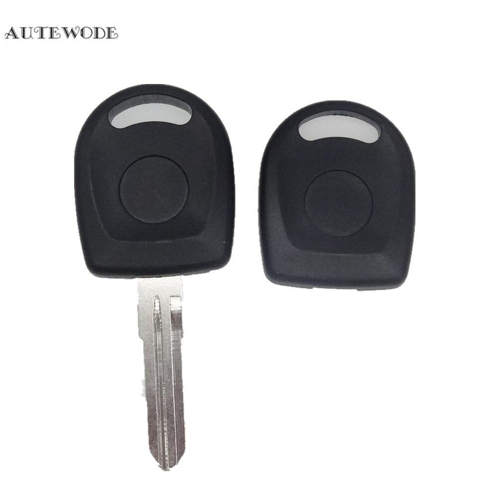 AUTEWODE 20 pièces De Rechange Voiture Clé de transpondeur adapté pour Lada clé shell couverture Fob auto accessoires