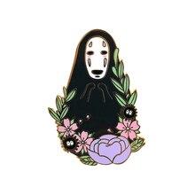 Espíritu entre el PIN de flores