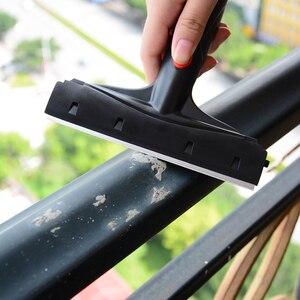 Image 2 - EHDIS 6 นิ้วคาร์บอนไฟเบอร์คาร์บอนไฟเบอร์ไวนิลรถตัดสติกเกอร์ Handled Scraper ทำความสะอาดสแตนเลสใบมีดไม้กวาดหน้าต่างฟิล์มกาว Remover
